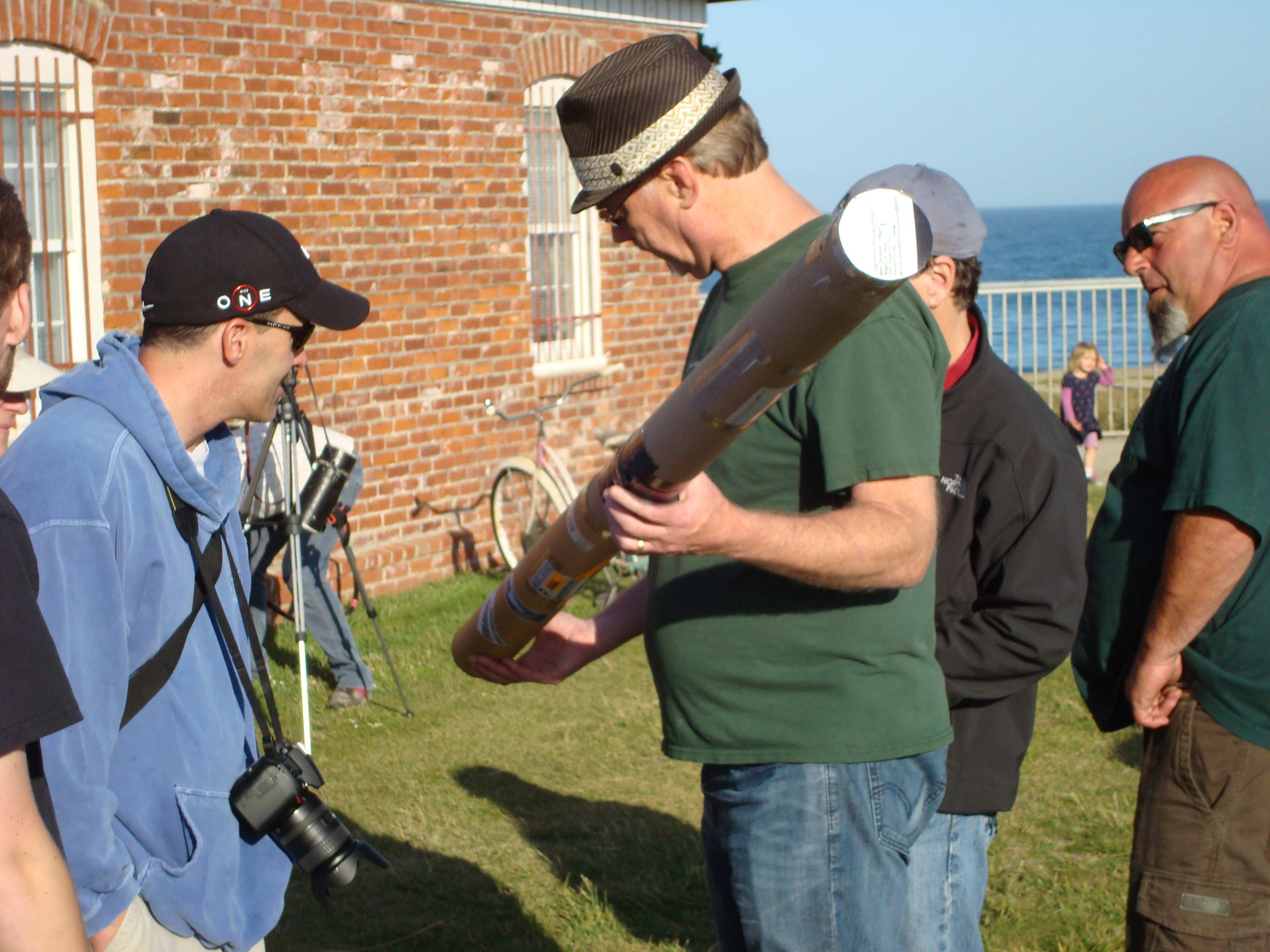 Annular                   Eclipse at the Lighthouse - May 20, 2012